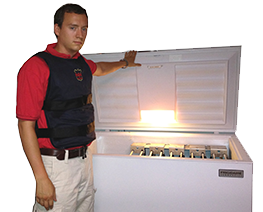 Fiveman Freezer for Cooling Vests